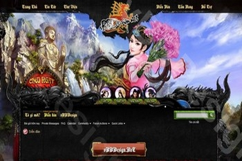 Skin forum game online - Skin forum web game Cửu Long
